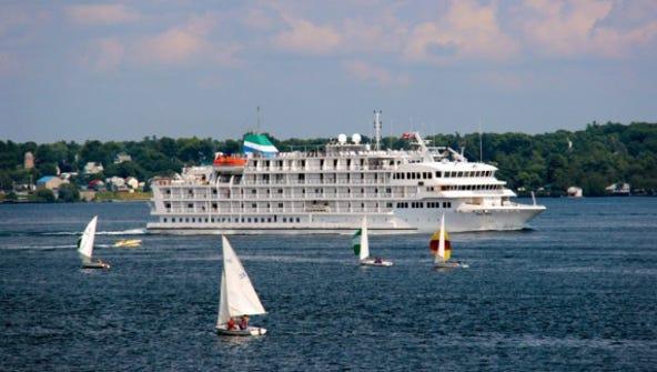 Pearl Seas Cruises' 210-passenger Pearl Mist.
