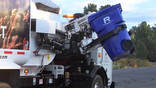 Starting July 1, curbside recycling fees will increase from $5.15 to $5.40 per month – a 25-cent per month increase.