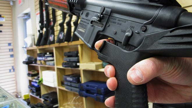 "A ""bump stock"" modifies the stock of the gun so the recoil helps fire rounds in rapid succession."