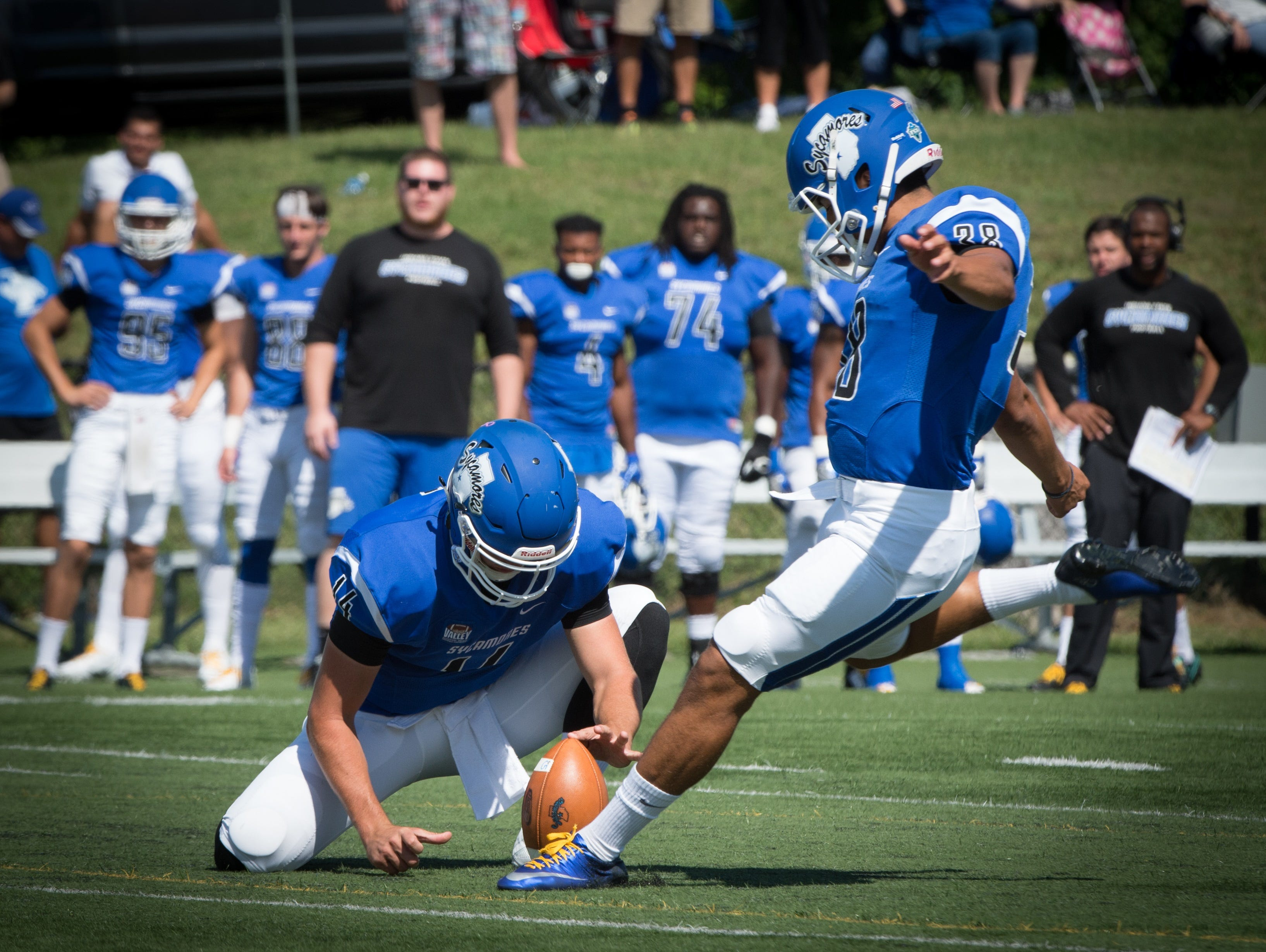 College football: Nunez stars in debut for Indiana State ...