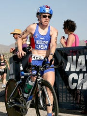 Iconic Michigan triathlete Karen McKeachie was killed in bike crash.
