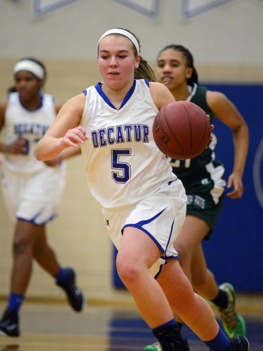 High School Girls Basketball - Parkside at Stephen Decatur