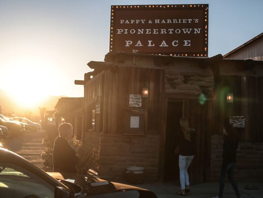 Pappy and Harriet's Pioneertown Palace is a popular