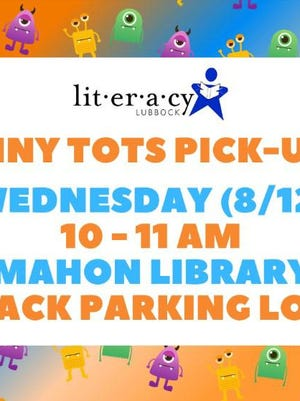 Tiny Tots Pick-up will be on Wednesday.