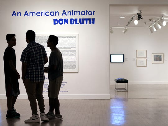 """An American Animator: Don Bluth"" is on display at"
