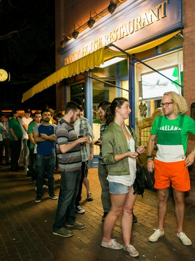 This longtime Mill Avenue favorite,Rula Bula draws crowds with its casual vibe, huge patio and live music.
