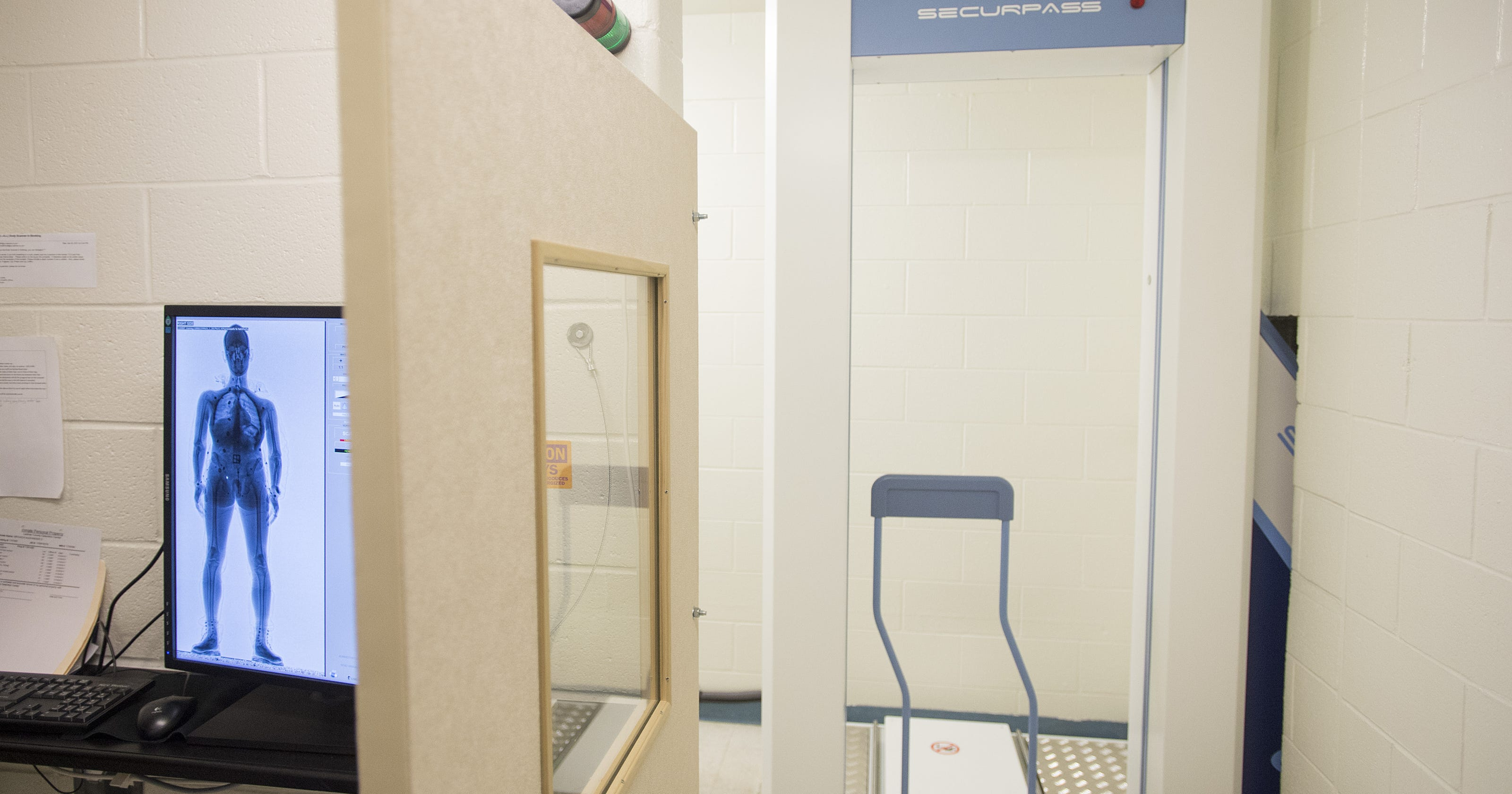 Larimer County Jail adds $200K airport-like body scanner