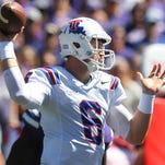 Louisiana Tech Bulldogs quarterback Jeff Driskel (6) has been invited to the Senior Bowl.