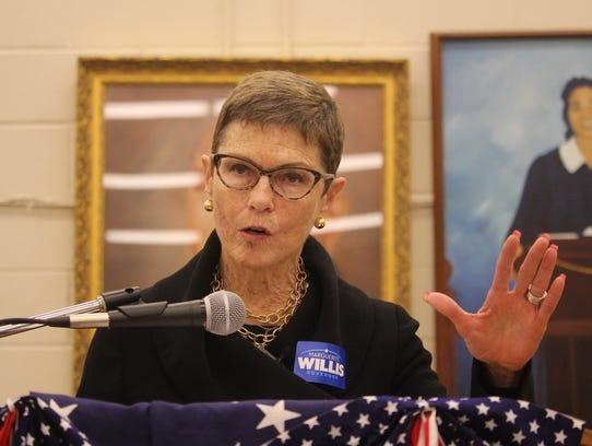 Democratic gubernatorial candidate Marguerite Willis