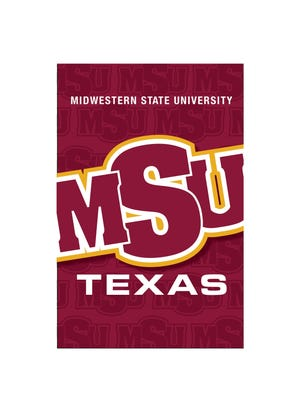 MSU on Thursday will unveil new MSU Texas banners that will be installed downtown along Eighth Street and portions of Ohio and Indiana avenues. The banners also herald the university's first home football game of the season. This is a mock-up of the banner.