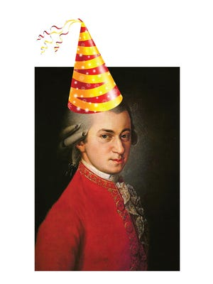 At the Michigan State University College of Music, Mozart has been chosen to have his birthday celebrated each year with a special concert.