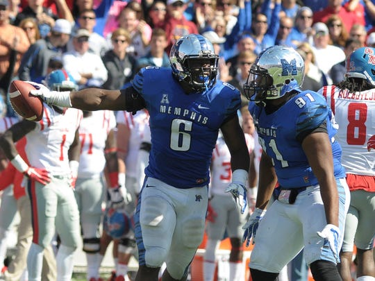 USA TODAY Sports  The Memphis Tigers Genard Avery (6) was an all-conference player as a junior. Memphis Tigers linebacker Genard Avery (6) and Memphis Tigers defensive lineman Ricky Hunter (91) celebrate during the game against Ole Miss in 2015.