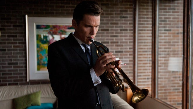 """Ethan Hawke as Chet Baker in Robert Budreau's """"Born to Be Blue,"""" an IFC Films release."""