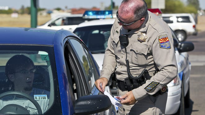 In the coming months, Arizona who take the written driver's license test will be tested on what to do when they are pulled over by police officers.