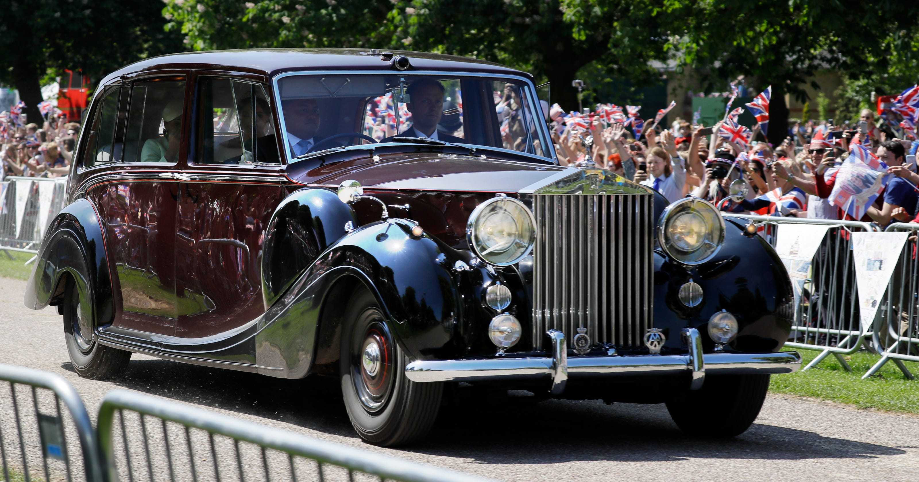 Meghan Markle Prince Harry Wedding Is Stage To Display British Cars