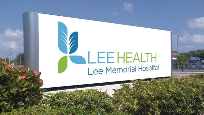 "This rendering shows the what the proposed new logo for ""Lee Health,"" the proposed new name for Lee Memorial Health System."