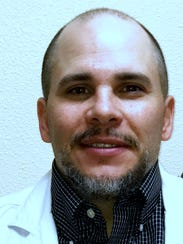 Bryan Baca is a nurse practitioner at the new Las Palmas