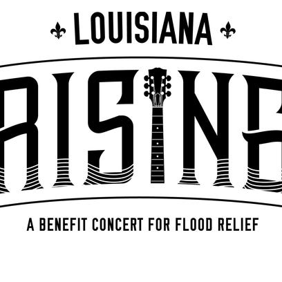 A concert will be held from the victims of this month's floods in Louisiana.