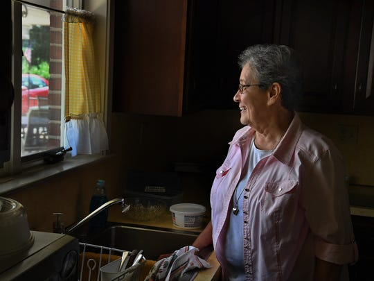 Sister Linda Fischer lives near the sight of the proposed pipeline and is among those fighting the project.