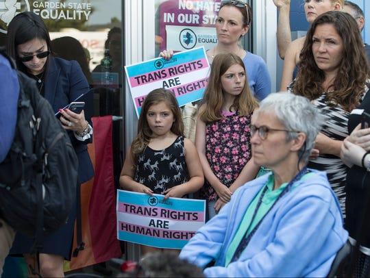 Sen. Cory Booker (D-NJ) visits Garden State Equality