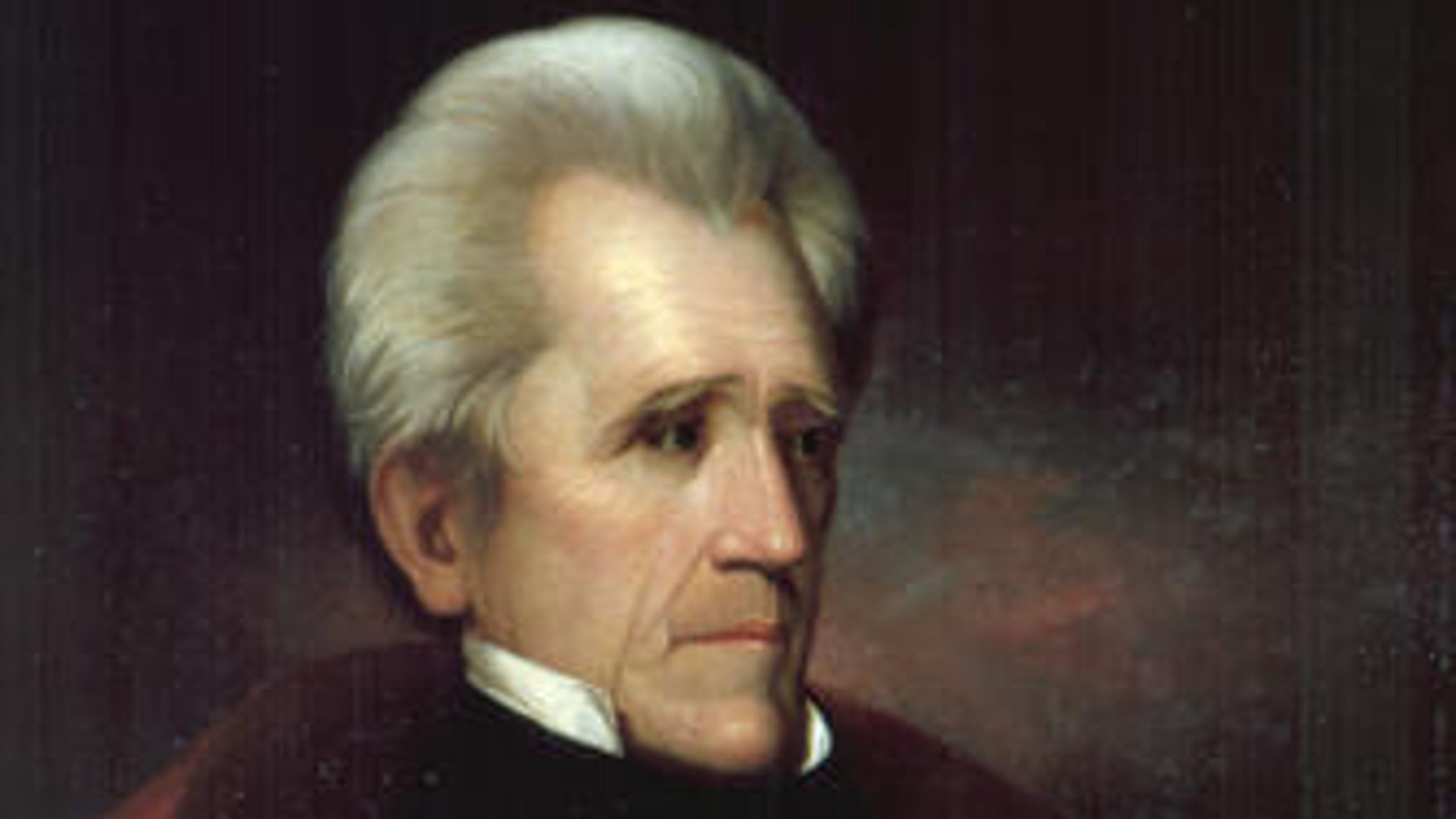 andrew jackson 1 $1 presidential dollars are struck in brass, not gold, and are only worth their face value of $1.