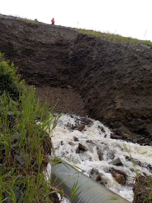 Montana Flooding Highway 200