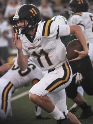 Newbury Park's Ben Gulbranson is one of four Marmonte League quarterbacks who own Division I college football scholarships.