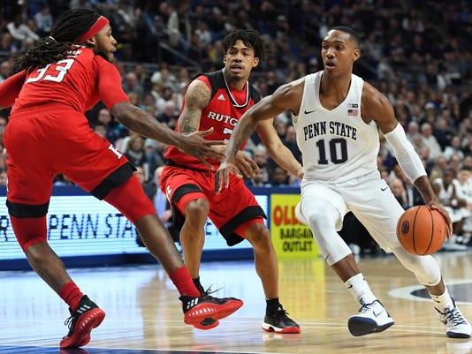 Rutgers basketball: Pikiell sits Sanders as Penn State pulls away