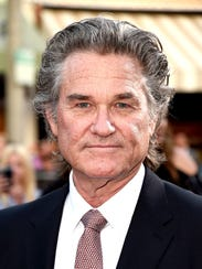"Kurt Russell attends the premiere of ""Snatched""."