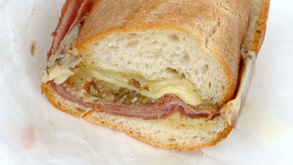 A muffuletta sub sandwich such as this one from Giminetti Baking Company in Walnut Hills and other take out foods should not be taxed in Ohio, if you order it as take out.