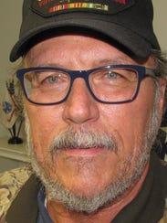 Larry Sherman, of Elmira chapter of Vietnam Veterans