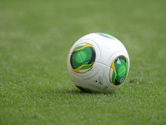 Soccer: World Cup Qualifier-USA Practice