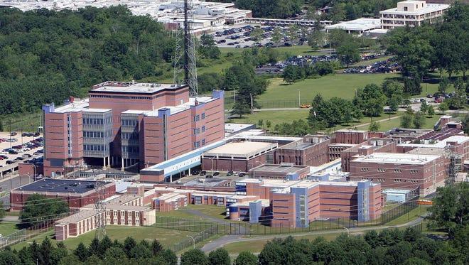 Westchester County Jail in Valhalla, N.Y.