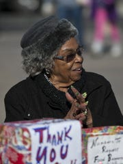 A file photo of Evelyn Mount at the Sparks Hometowne Christmas Parade on December 8, 2012 along Victorian Avenue in Sparks.