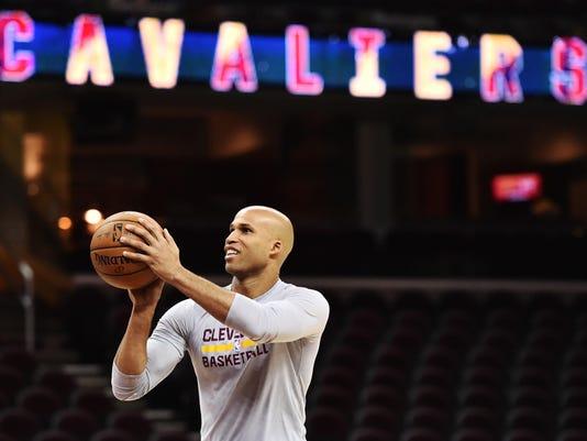USP NBA: NEW YORK KNICKS AT CLEVELAND CAVALIERS S BKN USA OH