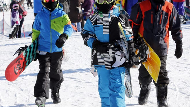 The popularity of snowboarding that grew at a rapid pace in the 1990s and early 2000s may have reached its peak according to the National Sporting Goods Association.