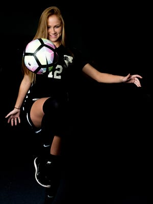 Station Camp sophomore Macy Carter is the Defensive Player of the Year on the All-County Team.