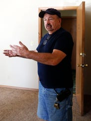 Larry Schut, a landlord in Sioux Falls, has had trouble