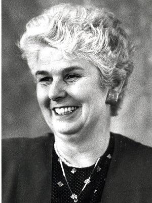Rosemary Hinkfuss in 1990.