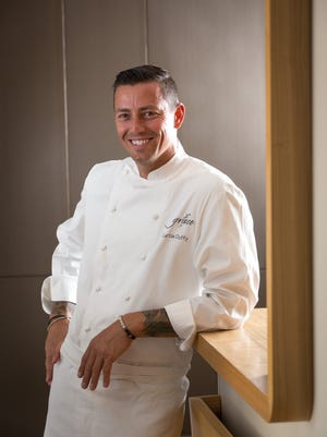 Curtis Duffy is chef and owner of the three-star Michelin restaurant, Grace, in Chicago.