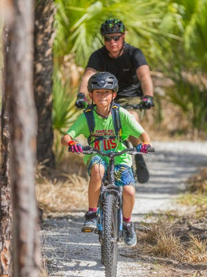 The event introduces kids and their families to the joy of mountain biking.