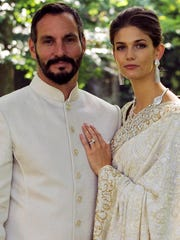 Kendra Spears became Princess Salwa Aga Khan when she married Prince Rahim Aga Khan.