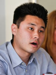 Student Daniel Chong talks about his ordeal while in
