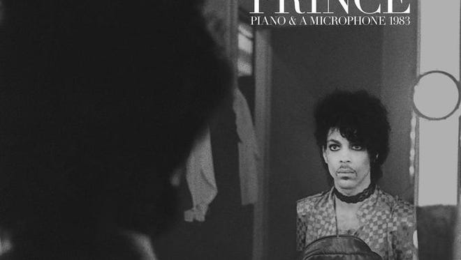 The cover art for Prince's forthcoming posthumous release 'Piano & A Microphone 1983.'