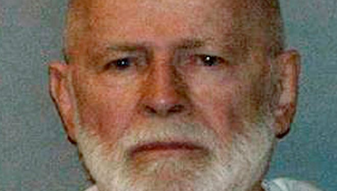 """James """"Whitey"""" Bulger was indicted on 32  counts, including playing a role in 19 murders, extortion and money laundering."""