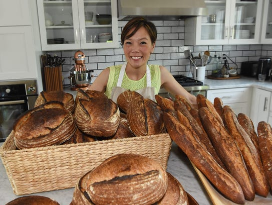 Cynthia Kinahan, owner of Pawling Bread Company, with