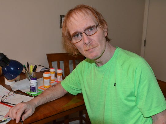 Jim Staton hopes to raise $60,000 for a treatment that