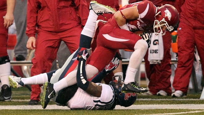 Ole Miss is ready for the opportunity to avenge last year's 30-0 loss to Arkansas.