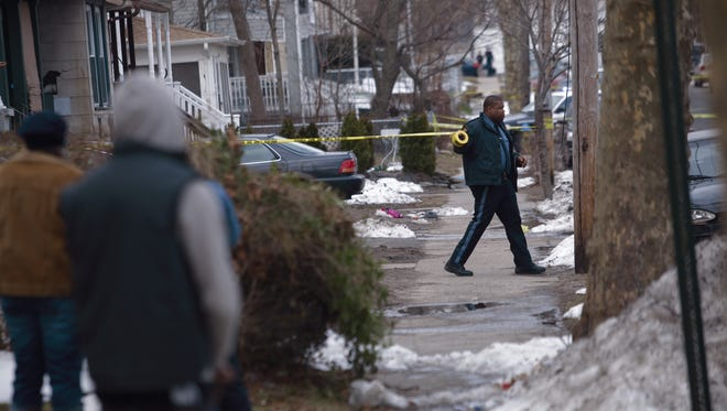 Police are responding to a reported shooting in Asbury Park.