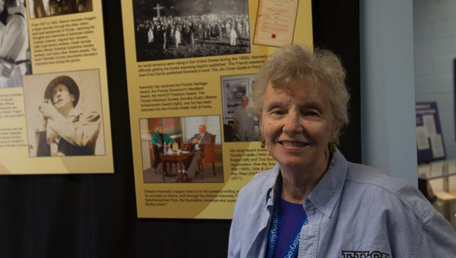 """Author and educator Sandra Parks, widow of Stetson Kennedy, will give a free presentation Saturday at 2:00 pm at the Brevard Museum of History and Natural Science, concluding the """"Second Saturdays with Stetson Series"""" presented in conjunction with the exhibition """"Stetson Kennedy's Multicultural Florida."""""""
